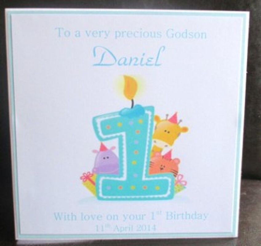 Birthdays archives simply johanna 1 4 1st 4th birthday blue candle animals bookmarktalkfo Images